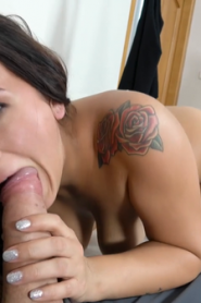FakeAgent: Claudia Bavel & James Brossman – Spunk loving tattooed Spanish babe