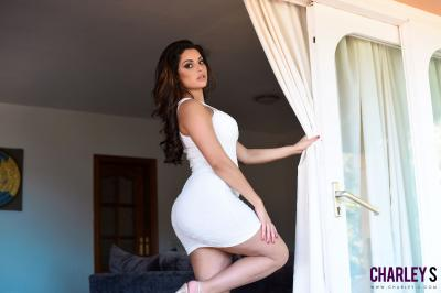 Charley S. - Teasing in Sexy White Dress x6rv32c0qs.jpg