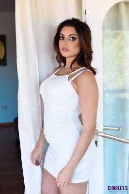 Charley S. - Teasing in Sexy White Dress 76rv3296hh.jpg