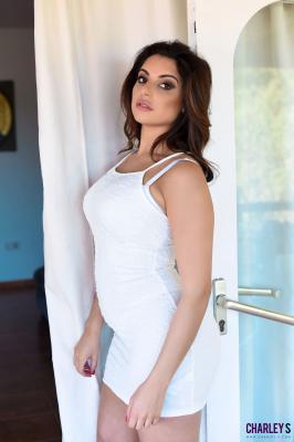 Charley S. - Teasing in Sexy White Dress h6r2nm11e1.jpg