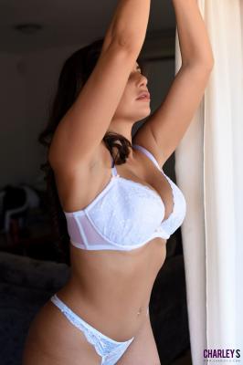 Charley S. - Teasing in Sexy White Dress y6rv330biz.jpg