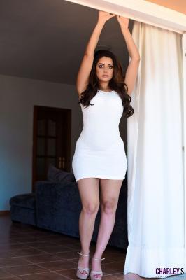 Charley S. - Teasing in Sexy White Dress k6rv34p20r.jpg