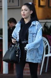Madison Beer - Out for dinner in West Hollywood 12/7/17