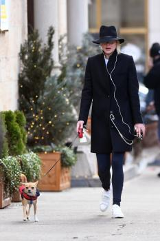 Jennifer Lawrence out with Pippi LawrenceStocking in 5