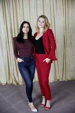 Camila Mendes and Lili Reinhart - JCPenney Prom Campaign 2018 | BTS
