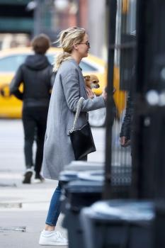Jennifer Lawrence out in NYC 12/20/17 3