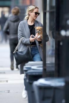Jennifer Lawrence out in NYC 12/20/17 5