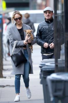 Jennifer Lawrence out in NYC 12/20/17 9