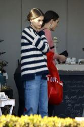 Kaia Gerber - Shopping in West Hollywood 12/22/17