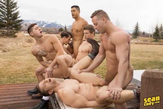 SC – Wyoming Getaway: Part 4 – Asher, Deacon, Dillan, Jack, Lane and Malcolm (Bareback)