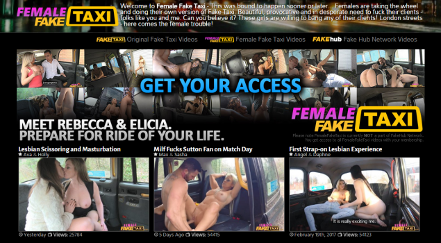 FemaleFakeTaxi - SiteRip (Updated Dec 2017)