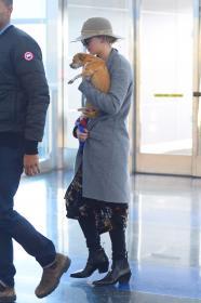 Jennifer Lawrence at JFK 12/30/17 3