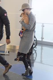 Jennifer Lawrence at JFK 12/30/17 4