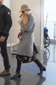 Jennifer Lawrence at JFK 12/30/17 6