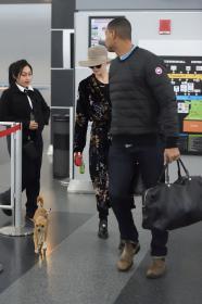 Jennifer Lawrence at JFK 12/30/17 11