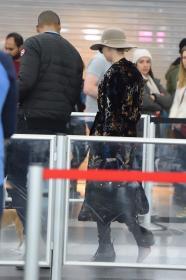 Jennifer Lawrence at JFK 12/30/17 13