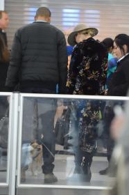 Jennifer Lawrence at JFK 12/30/17 14